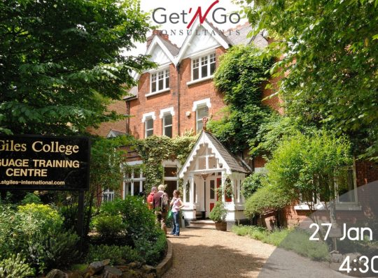 Meet St Giles Language School at Get 'N Go